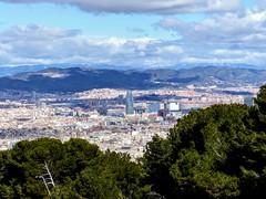 Barcelone depuis la citadelle de Montjuich (François Magne) Tags: barcelone barcelona montjuich tour torre agbar jean nouvel