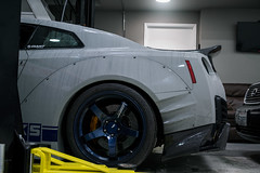 Garage-27-nissan-gtr-3 (michael_mazzoni) Tags: nissan gtr r35 nissangtr r35gtr widebody chargespeed hks advan shop cars automotive sony a7r sonya7r