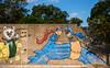 Thumb Hero (-Dons) Tags: austin texas unitedstates mural tx usa muralart wall hand thumb superman batman theaspire mouf iammagill artxrat
