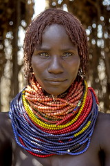 Natural beauty (alfienero) Tags: beauty nyangatom ethiopia omo river woman africa ethnic look me eyes