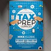 Tax Preparer Flyer - Business PSD Template (psdmarket) Tags: cash commercial corporate financial income incometax irs refund return service tax taxprep taxpreparer taxtime taxes