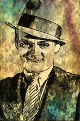 James Cagney (Bob Smerecki) Tags: smackman snapnpiks robert bob smerecki sports art digital artwork paintings illustrations graphics oils pastels pencil sketchings drawings virtual painter 6 watercolors smart photo editor colorization akvis sketch drawing concept designs gmx photopainter 28 draw hollywood walk fame high contrast images movie stars signatures autographs portraits people celebrities vintage today metamorphasis 002 abstract melting canvas baseball cards picture collage jixipix fauvism infrared photography colors negative color palette seeds university michigan football ncaa mosaic