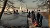 Ice-sailing on Lake Pönitz with ice party afterwards (Ostseeleuchte) Tags: icesailing iceyachting iceboats pönitzersee lakepönitz icesportinsunshine icesailingonthinice germany ostholstein norddeutschland