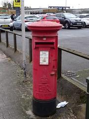Pillar Box, Adam Street, Cardiff 10 March 2018 (Cold War Warrior) Tags: pillarbox royalmail postoffice postbox gpo eiir carron cardiff