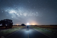 Parkes (Bill Thoo) Tags: parkes nsw newsouthwales australia night sky nightsky milkyway galacticcore galaxy landscape stars astrophotography longexposure dark explorer travel country bush rural road scenic nature sony a7rii ilce7rm2 zeiss batis 18mm
