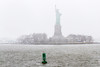 Lady Liberty stands tall against Nor'easter Riley (JMFusco) Tags: newyorkharbor statueofliberty nyc newyorkcity newyork statenislandferry weather water ny nps national park service noreaster storm winter liberty island