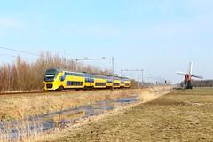 NS VIRM-4 9583 als Intercity 2145 naar Den Haag Centraal bij Lageveensemolen te Lisse (daniel_de_vries01) Tags: virm 4 ns virm4 9583 als intercity 2145 naar den haag centraal bij lageveensemolen te lisse