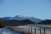 DSC_4682a (Fransois) Tags: montagnes mountains adirondacks adks champ field ny macintyrerange clôture fence usa bluesky cielbleu hiver winter landscape arbres newyorkstate upstatenewyork