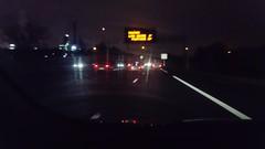DSC_0160 (Benoit Vellieux) Tags: nuit night nacht conduire driving fahren rain pluie regen météo weather wetter raffinerie refinery lyon feyzin