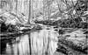 Bowlees . (wayman2011) Tags: lightroomfujifilmxt10 wayman2011 bwlandscapes mono rural streams becks longexposures bw110 reflections pennines dales teesdale bowlees countydurham uk