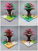 Friends For All Seasons (thropots) Tags: lego legofriends fourseasons tree moc friends summer winter autumn spring
