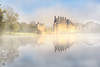Misty golden hour on the castle... (Grégory Dolivet) Tags: mist castle chateau reflection reflet goldenhour brume sunrise landscape paysage water