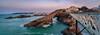 Francia - Biarritz - Roca de la Virgen - Rocher de la Vierge (Iñigo Escalante) Tags: biarritz euskadi euskalherria basquecountry paisvasco paisvascofrances nocturna francia eiffel beach napoleon mar cantabrico atardecer rocadelavirgen rocherdelavierge