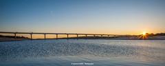 (Ignacio Ferre) Tags: madrid españa spain embalsedevalmayor valmayorreservoir reservoir embalse agua water puente bridge sunset puestadesol dusk nikon paisaje landscape panorama sol sun