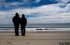 Together (SMPhotos2548) Tags: beach nj shore ocean water waves clouds marriage together