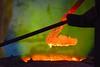 green flame (sculptorli) Tags: bronze metal flame hot glow art
