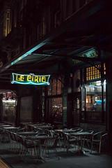 Le Cirio, Brussels, Belgium (Plan R) Tags: cafe restaurant cirio brussels evening night dark neon window leica m 240 noctilux 50mm 1886
