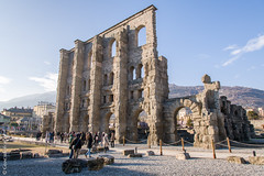 Teatro romano - Fiera di Sant'Orso 2018 - Aosta (Giancarlo - Foto 4U) Tags: c2018 2018 24120mm aosta aoste d850 fiera giancarlofoto italia italie nikon ours saint st de di fieradisantorso2018 fête la orso sant santorso teatro romano theatre romain