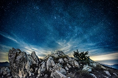 Against the stars (simone_aramini) Tags: nikon nationalgeografic ngc nature landscape lavalnerina landscapes longexposures mountain montagna outdoor appennino absolutelystunningscapes astrophotography stars nightlight nightscapes
