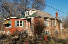 Abandoned in Robbins, Illinois (Cragin Spring) Tags: robbins robbinsil robbinsillinois chicagosuburb illinois il midwest unitedstates usa unitedstatesofamerica house home abandoned decay