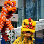 Faces of St. Patrick's Day Parade: Chinese lions thumbnail