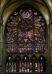 Cathédrale Notre-Dame d'Amiens (aherne) Tags: gothicarchitecture frenchgothic amienscathedral nikon d7000