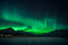 (Clint Everett) Tags: sky night astrophotography northernlights nature iceland mountains winter auroraborealis aurora