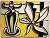 """""""Sans titre, lampe et fleur"""" 1951 Bas-relief en terre cuite émaillée, Fernand Léger Exposition Fernand Léger (1881-1955) """"Beauty is Everywhere"""" """"La Beauté est partout"""", Bozar, Bruxelles, Belgium (claude lina) Tags: claudelina belgium belgique belgïe bruxelles brussel palaisdesbeauxartsdebruxelles bozar exposition fernandléger lebeauestpartout beautyiseverywhere basrelief émail lampeetfleur oeuvre art"""