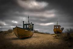 Gestrandet - stranded (ralfkai41) Tags: boot meer gestrandet outdoor balticsea sea schiff ship ostsee strand clouds usedom island boat beach insel wolken stranded