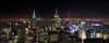 Top of the Rock (D Alexander Photos) Tags: architecture building city cityscape colors hudsonriver lights manhattan newyork newyorkcity night skyline topoftherock nightscape