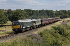 20180707_IMG_5859 (PowerPhoto.co.uk) Tags: brgreen class25 diesel locomotive d5185 d7629 burrscountrypark 1j65 eastlancsrailway elr dieselgala train railway