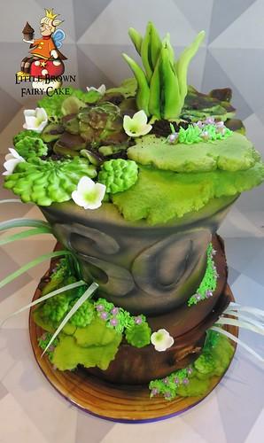 a top garden pot
