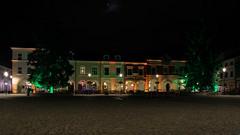 Night in Krosno (2) (Krzysztof D.) Tags: shiftn architecture architektura krosno podkarpacie podkarpackie subcarpathia karpatenvorland rynek marketsquare marketplace night noc nacht polska poland polen