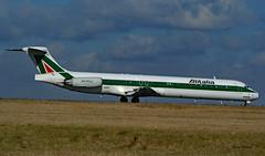 MDD MD80 ~ I-DATG  Alitalia (Aero.passion DBC-1) Tags: spotting cdg 2009 dbc1 david roissy airlines airport airliner biscove aeropassion avion aircraft aviation plane mdd md80 ~ idatg alitalia