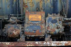 Musée National du Chemin de Fer (hans pohl) Tags: portugal entroncamento musées expositions locomotives trains signs