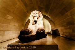The Sphinx of Pharaoh (anastase.papoortzis) Tags: canon canon5dmkiii france frança louvre museum paris canon5dmarkiii ctyoflights egyptian europe romantic