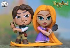 Disney Princess Romance Series (PrinceMatiyo) Tags: flynnrider rapunzel toyphotography disneyprincessromanceseries funko tangled disneyprincess disney