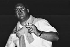 (barbieri simone) Tags: simonebarbieri 35mm film filmisnotdead filmphotography istillshootfilm ishootfilm bw blackandwhite people street milano night archive 2000 flaw analogic