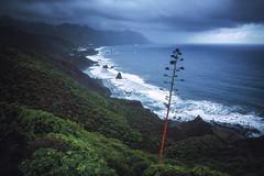 Tenerife - Anaga Mountains (030mm-photography) Tags: rot teneriffa anagakanarischeinseln gebirge küste sturm wetter regen wind brandung wellen landschaft landscape natur nature reise travel spanien spain canaryislands cliffs klippe rocks felsen steine sonnenuntergang sunset