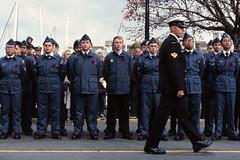The Cadets (tyson_laidler) Tags: ektachrome e100 kodak 35mm remembrance day victoria bc slide film
