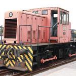 Locomotora Diesel Babcok & Wislex. Hunosa N.3