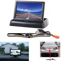 Backup Camera and Monitor Kit for Car,Chuanganzhuo 4.3″ inch High Definition TFT LCD Monitor+170 degree Wide Angle License Plate Backup Camera Review (vehicledashcam) Tags: ifttt wordpress