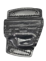 Springfield XD Sub Compact Car Holster (americanleathersmith) Tags: carholster leatherholster gunholster concealcarry holster mounted leather