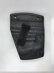 Springfield XD Sub Compact Car Holster Back (americanleathersmith) Tags: carholster leatherholster gunholster concealcarry holster mounted leather