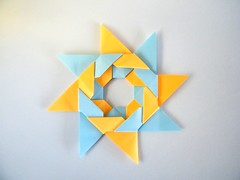 Pajarita Star - José Meeusen (Rui.Roda) Tags: origami papiroflexia papierfalten estrela estrella stern stella étoile pajarita star josé meeusen