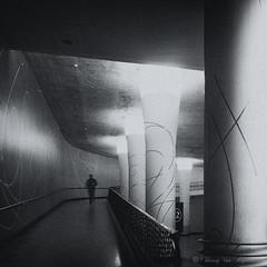 Galerie Horta ( Bruxelles ) (vanregemoorter) Tags: street bruxelles monochrome blackandwhite