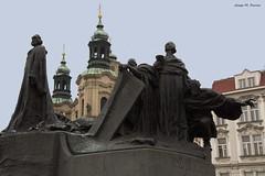 A LA MEMÒRIA DE JAN HUS (Praga, desembre de 2018) (perfectdayjosep) Tags: sculpture escultura janhus praga praha prague czechrepublik repúblicatxeca perfectdayjosep