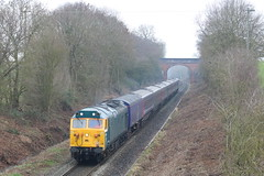 BRINGING BACK THE MEMORIES (Malvern Firebrand) Tags: 50007 unnamed evesham stoulton 24119 working 5z50 0830 st philips mrsh h s t d long marston gbrf hstd worcestershire trains ecs hst coaches stockmove storage outdoors winter 2019 scenic countryside rural hoover englishelectric class50 50xxx retro trees mainline gwr fgw