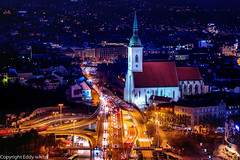 St. Martin's Cathedral, Bratislava. (whidom88) Tags: st martins cathedral bratislava low light blue hour