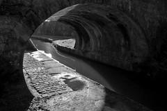 LightPortal (Tony Tooth) Tags: nikon d7100 sigma 1750mm bw blackandwhite monochrome bridge chiaroscuro sunlight macclesfieldcanal canal langley macclesfield cheshire